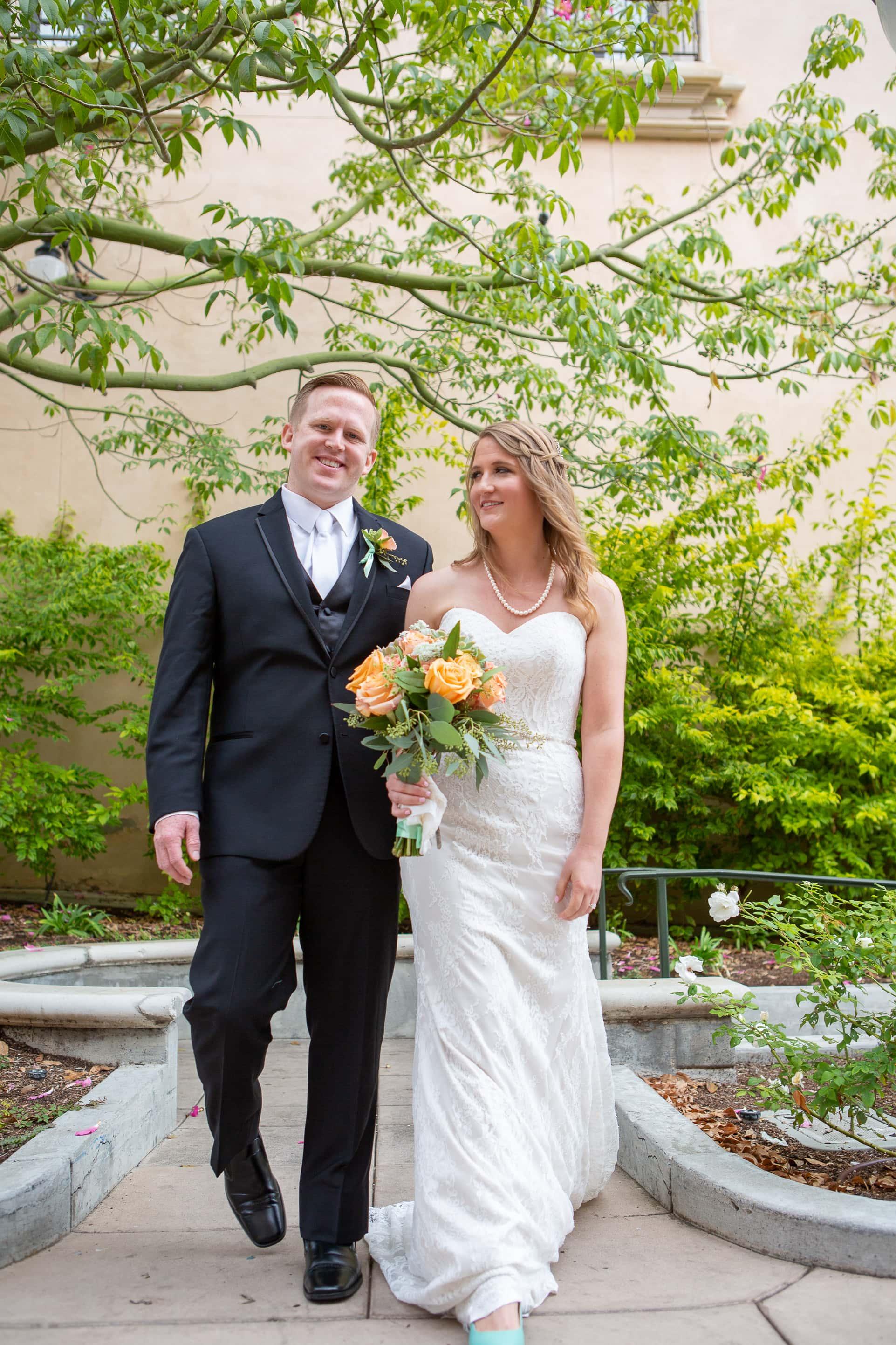 Kris & Matt's Wedding:  Prado, Balboa Park, San Diego