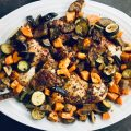 Sheet Pan Honey Balsamic Chicken Paleo