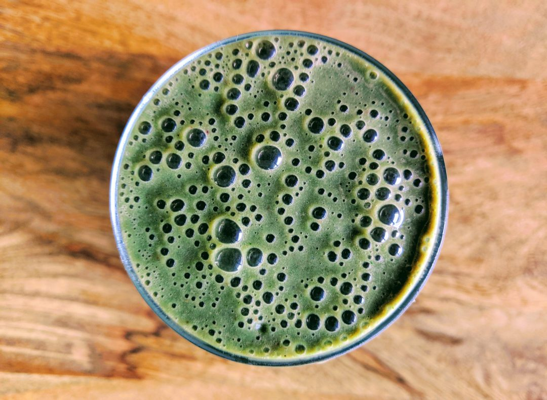 Easy Green Smoothie with Protein