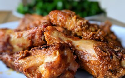 Hot & Saucy Thai Wings (Gluten Free, Keto, Paleo)