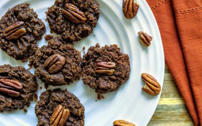 Flourless Pumpkin Spice Cookies (Plant-Based, Paleo, Naturally Sweetened)