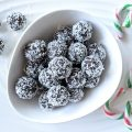 Mint Chocolate Balls Paleo Plant-Based