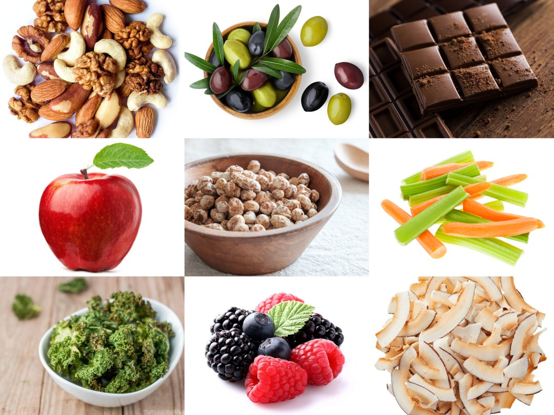 healthy snacks when you're on the go