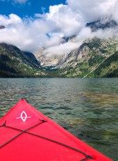 kayak teton lake