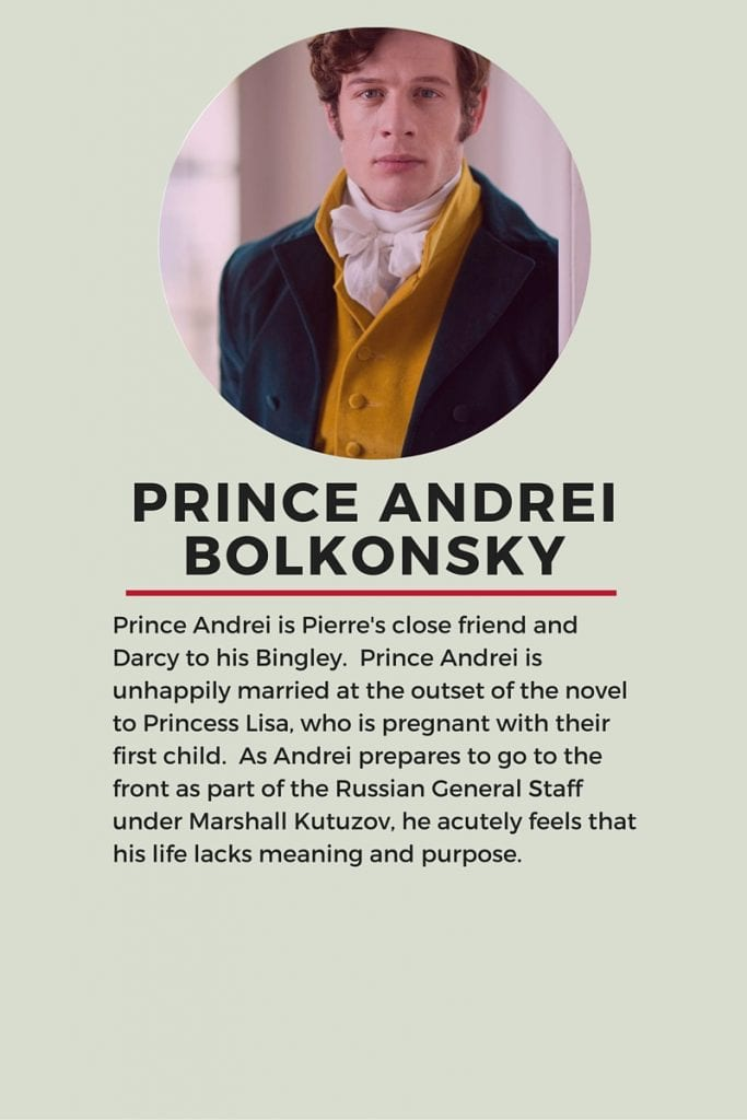 Who's who in Tolstoy's War and Peace: Prince Andrei Bolkonsky