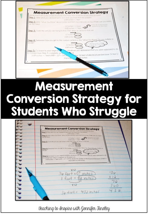 small resolution of Measurement Conversions for Kids Who Just Don't Get It - Teaching with  Jennifer Findley