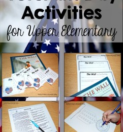 Veterans Day Activities for Upper Elementary - Teaching with Jennifer  Findley [ 1632 x 1078 Pixel ]