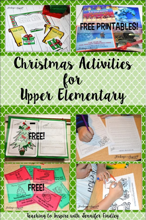 small resolution of Christmas Activities for Upper Elementary - Teaching with Jennifer Findley