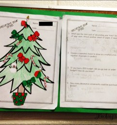 Christmas Activities for Upper Elementary - Teaching with Jennifer Findley [ 1333 x 1788 Pixel ]