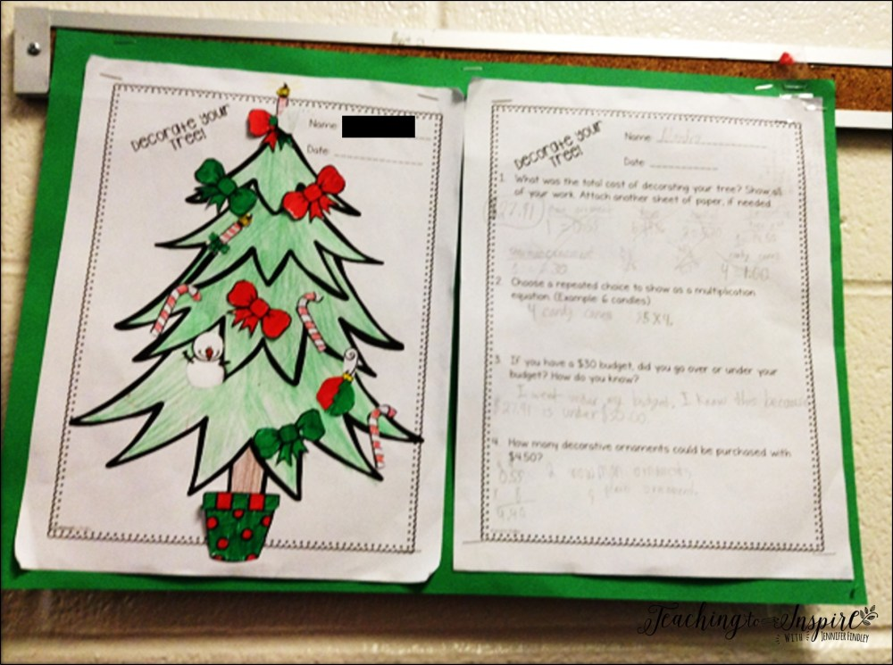 medium resolution of Christmas Activities for Upper Elementary - Teaching with Jennifer Findley