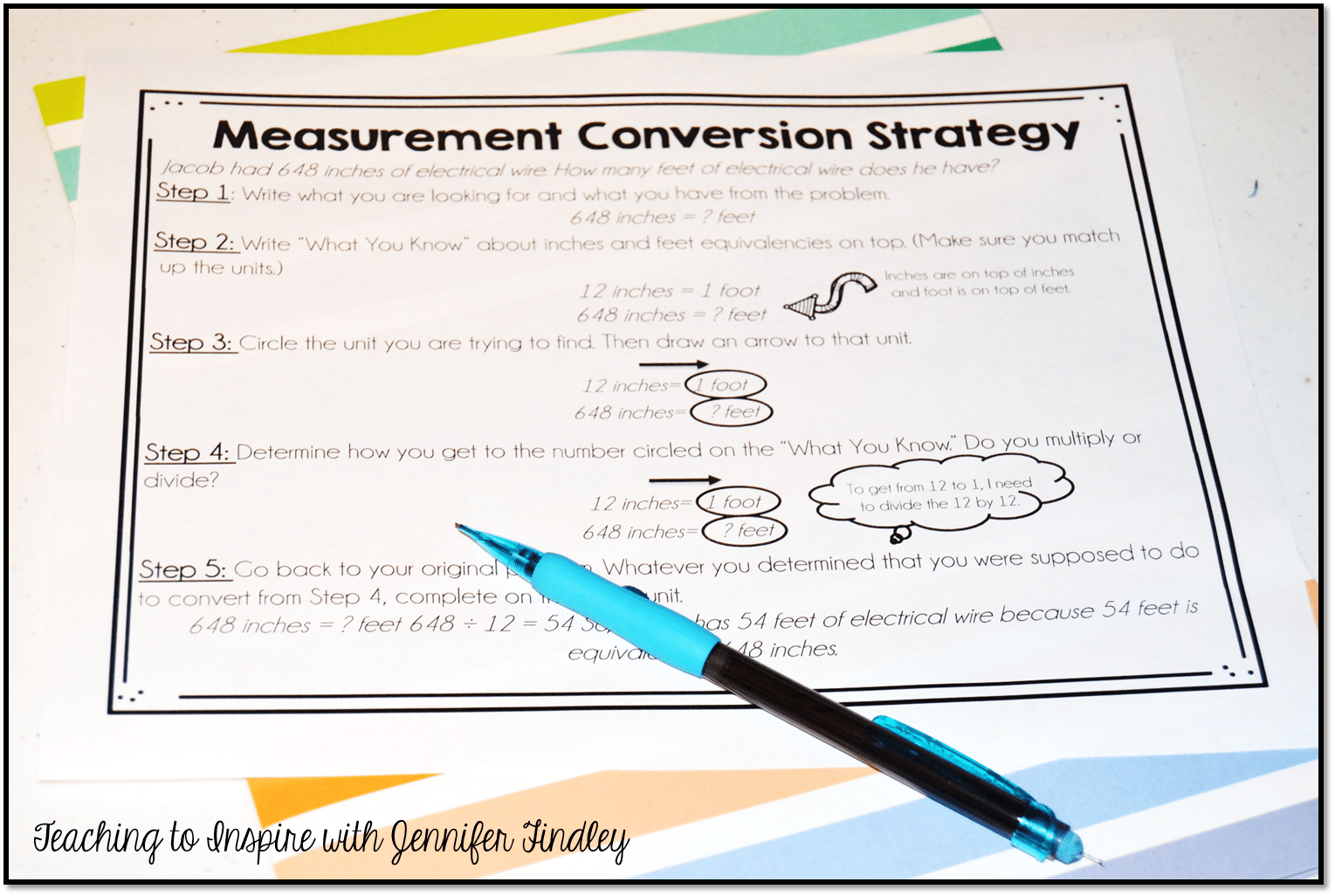 hight resolution of Measurement Conversions for Kids Who Just Don't Get It - Teaching with  Jennifer Findley