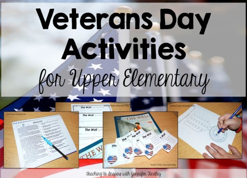 small resolution of Veterans Day Activities for Upper Elementary - Teaching with Jennifer  Findley