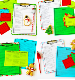 Christmas Activities for Upper Elementary - Teaching with Jennifer Findley [ 1049 x 1148 Pixel ]