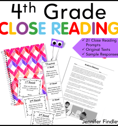 Annotating Tips for Close Reading - Teaching with Jennifer Findley [ 960 x 960 Pixel ]