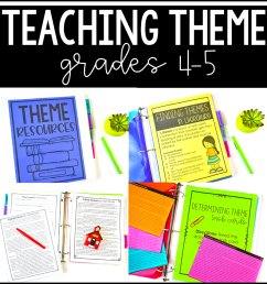 Free Theme Activities - Teaching with Jennifer Findley [ 960 x 960 Pixel ]