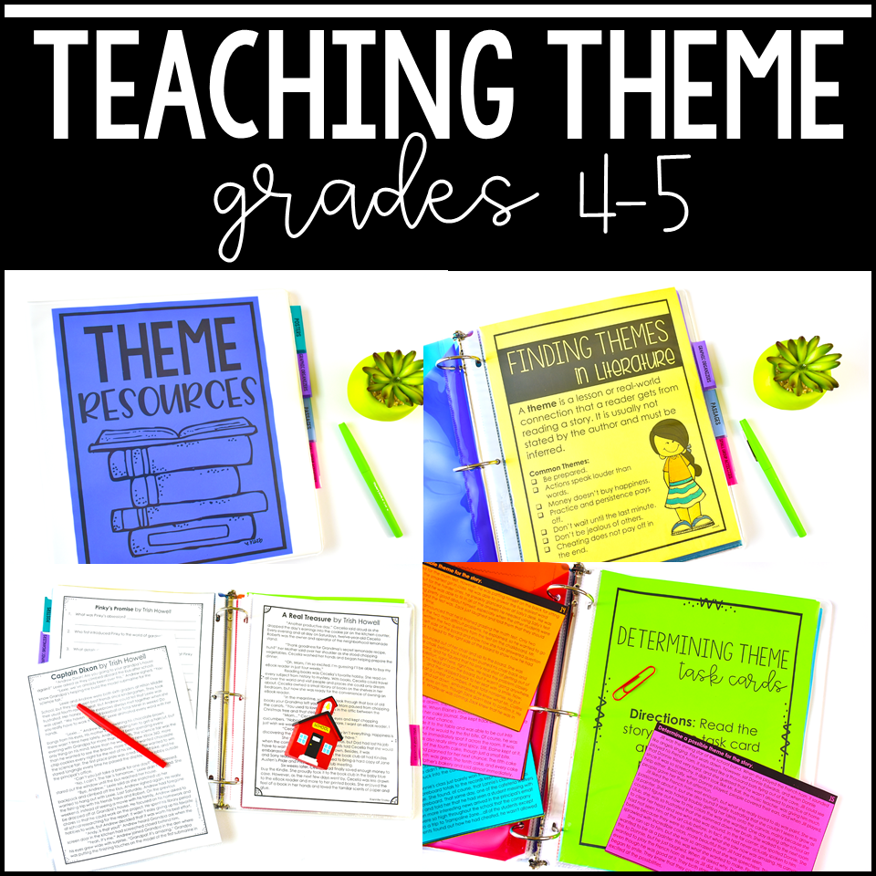medium resolution of Free Theme Activities - Teaching with Jennifer Findley