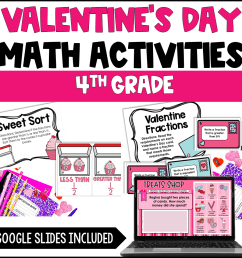 Valentine's Day Activities for Upper Elementary - Teaching with Jennifer  Findley [ 960 x 960 Pixel ]