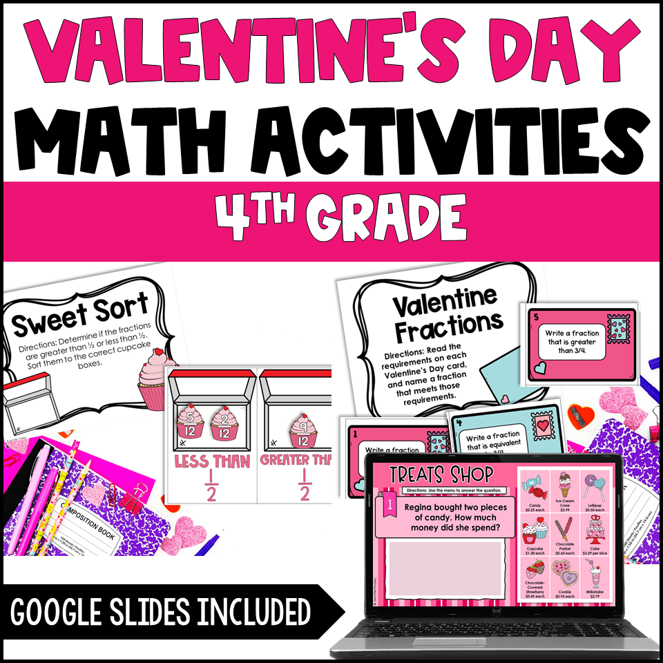 medium resolution of Valentine's Day Activities for Upper Elementary - Teaching with Jennifer  Findley
