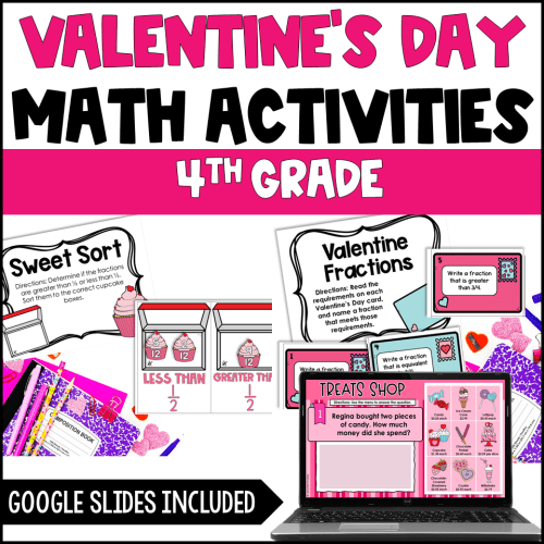 small resolution of Valentine's Day Activities for Upper Elementary - Teaching with Jennifer  Findley