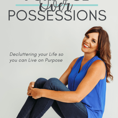 purpose over possessions