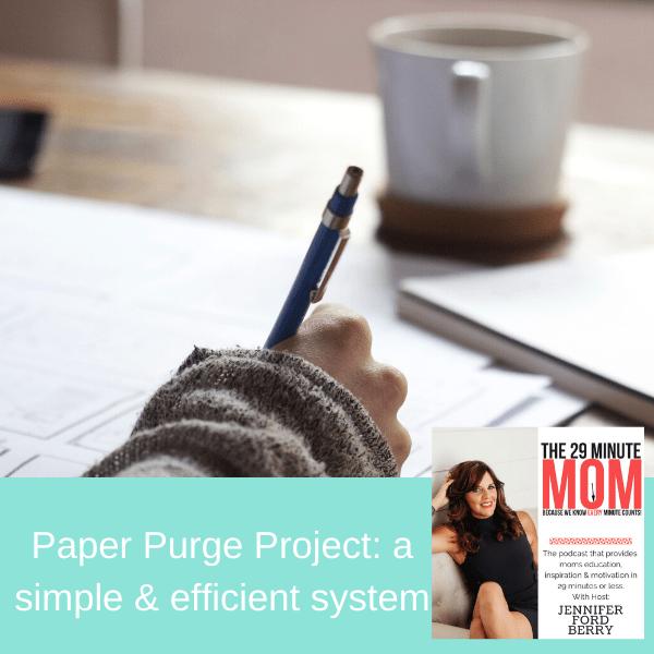 paper purge