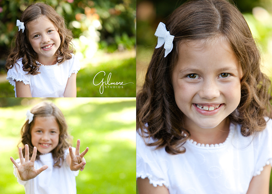 8 Year Old LDS Baptism Portrait Photography Session