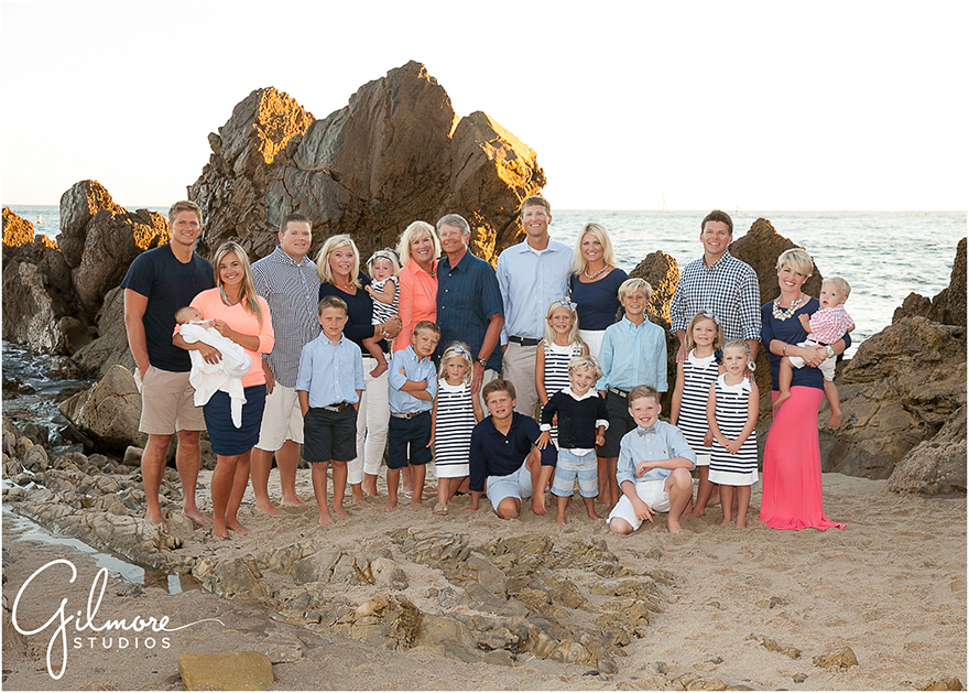 Family Vacation in Newport Beach  Family Portrait