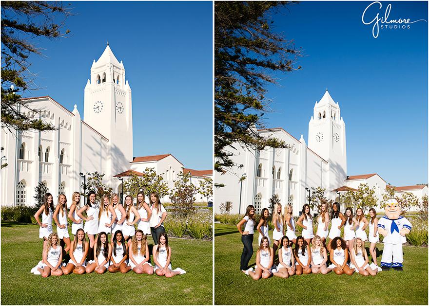 NHHS Cheerleading  Cheer Team Squad Photography  Newport Beach  Gilmore Studios wedding family newborn maternity and event photographers