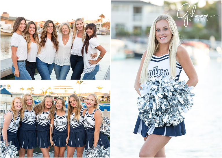 Cheer Team Photos  Newport Harbor High School 2016 Newport Beach Photographer  Gilmore