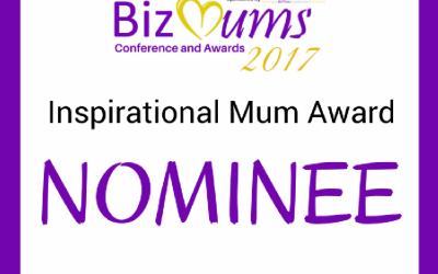 BizMum Award Nominee 2017