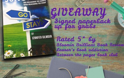Signed paperback giveaway!