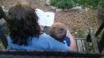 Stefanie Freele and child (2)