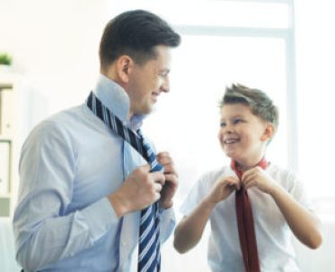 father son tie