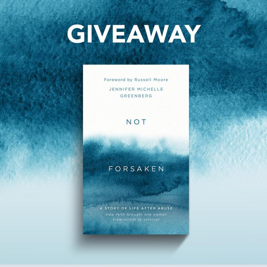 Not Forsaken Book Giveaway