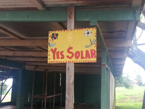 Anti wind but pro solar on Molokai