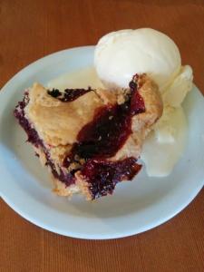loganberry pie