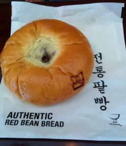 red bean bread