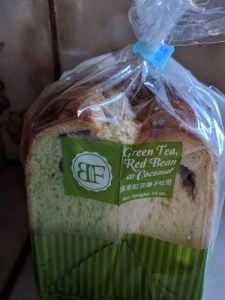 green tea coconut bread