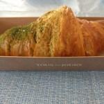 green tea croissant