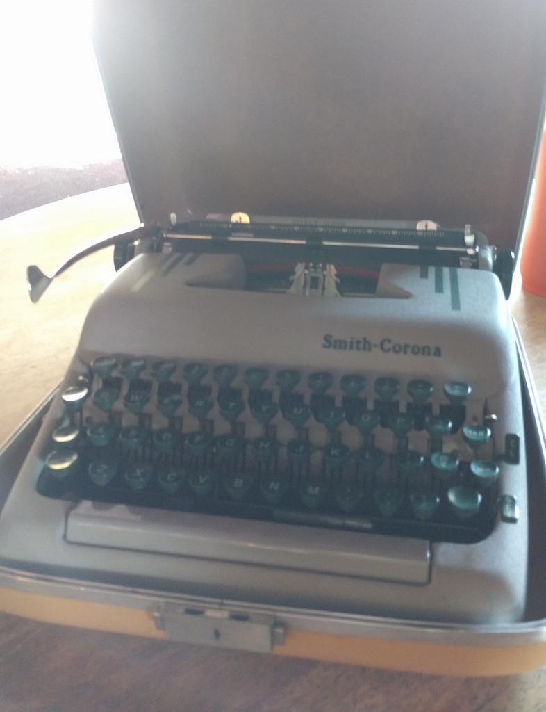 smith-corona typewriter