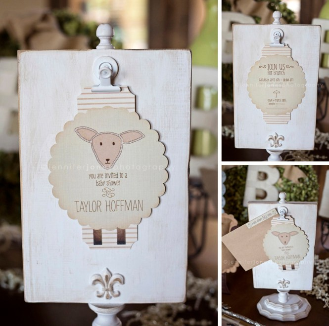 Vintage Little Lamb Party Table By Itsy Belle S Birthday Ideas