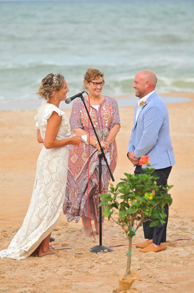 wedding at coral sands resort