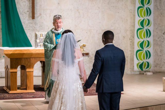Our Lady of Lourdes wedding