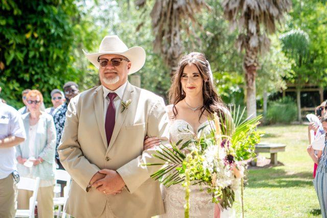 Florida gator wedding