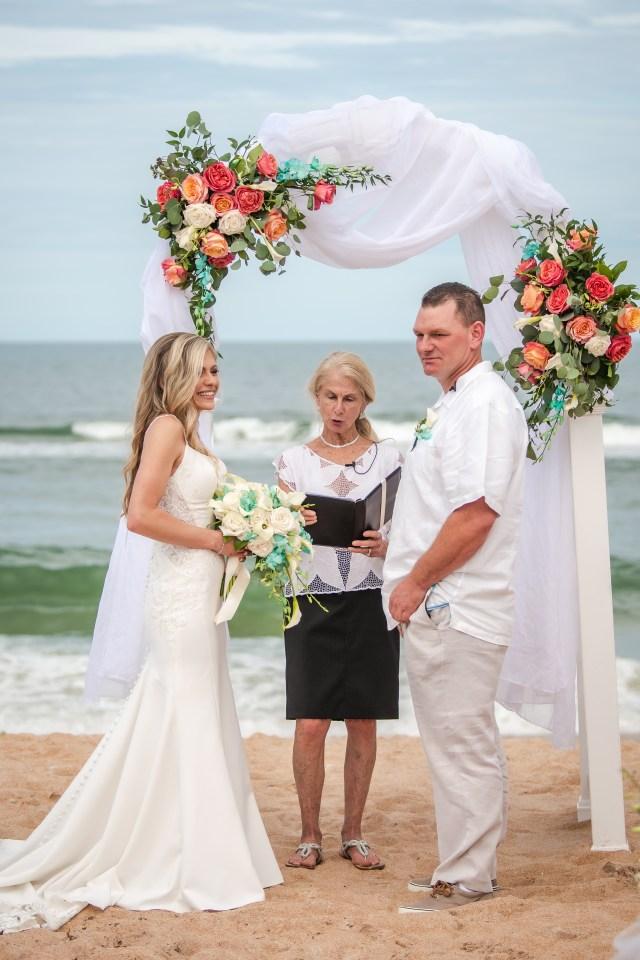 Destination Wedding at Coral Sands Resort