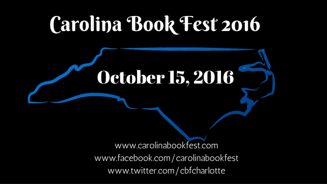 Carolina Book Fest 2016 for FB Event