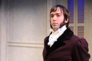 Charles (Will Brown) looks on - Persuasion by Jennifer Le Blanc