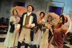 Out for a stroll along The Cobb - Jane Austen's Persuasion adaptation by Jennifer Le Blanc