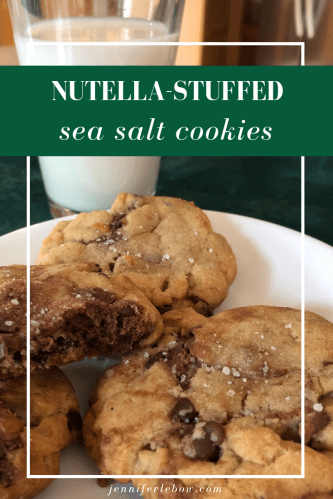 If you love Nutella like I do, these cookies combine the best of everything.