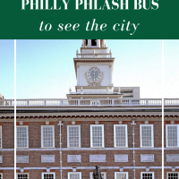 The best way to see Philadelphia's sites and attractions? The Philly Phlash bus!